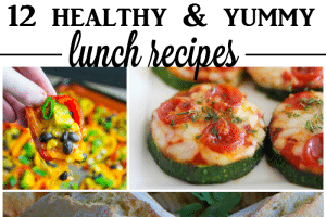 12 healthy and yummy lunch recipes
