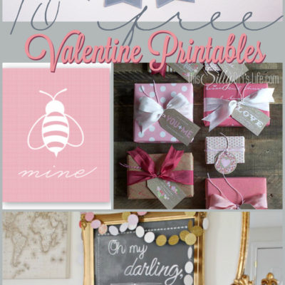 10 Free Valentine Printables