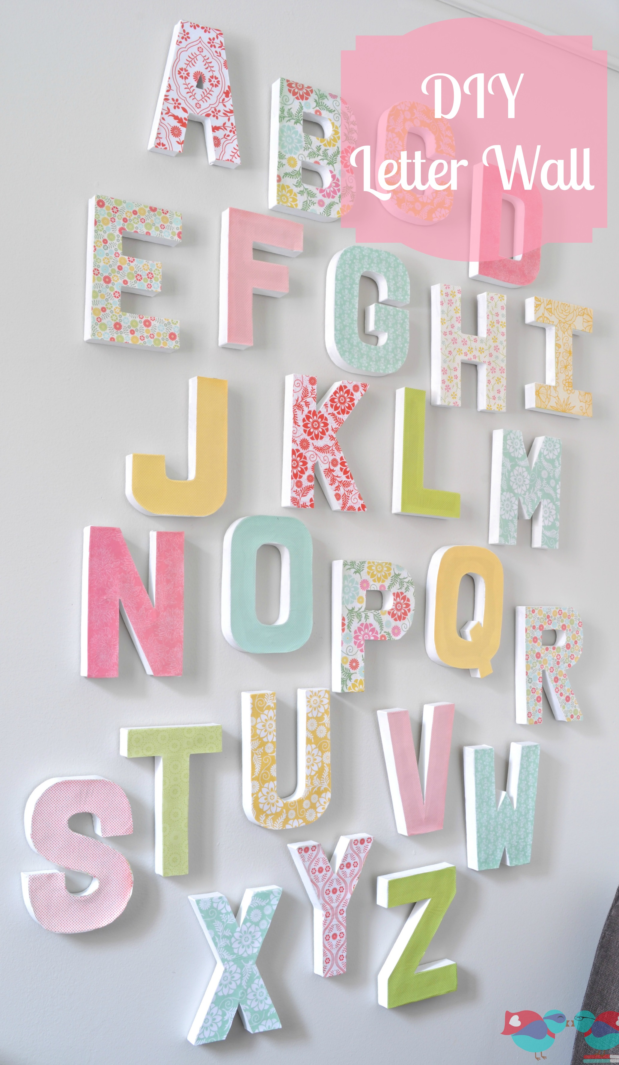 15 DIY Wall Art Ideas - This Silly Girl\'s Kitchen