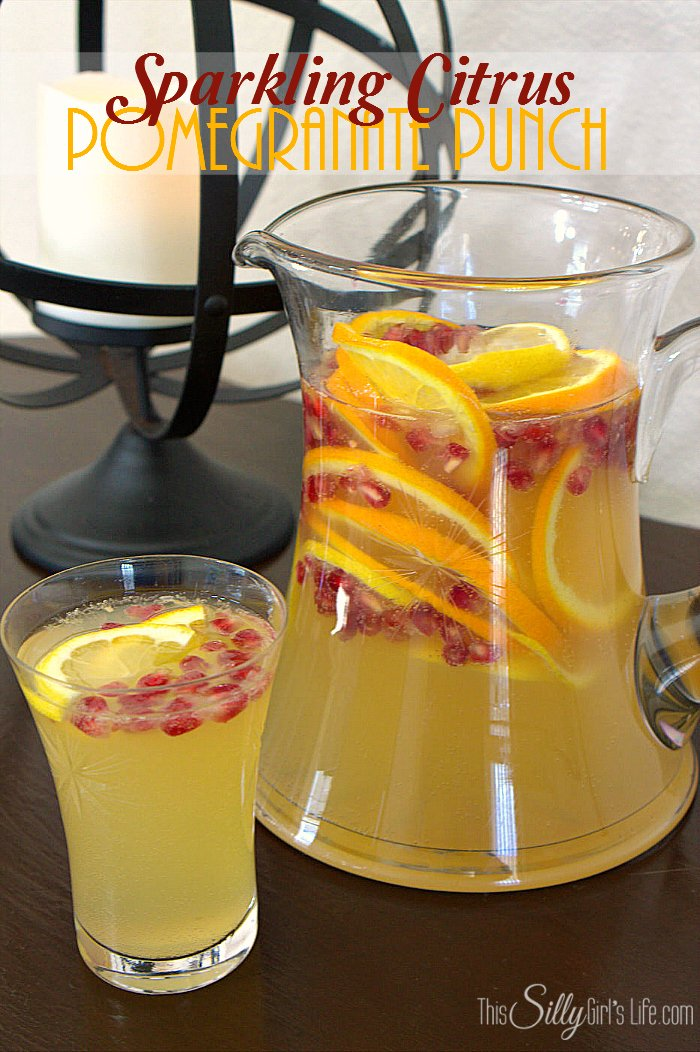 citrus pomegranate punch