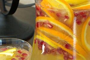 Sparkling Citrus Pomegranate Punch