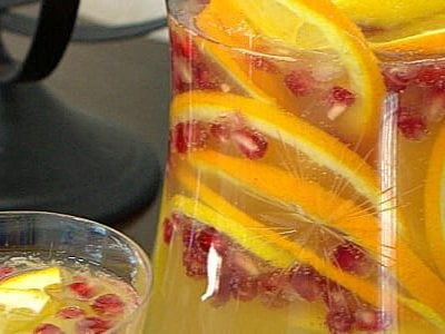 Sparkling Citrus Pomegranate Punch