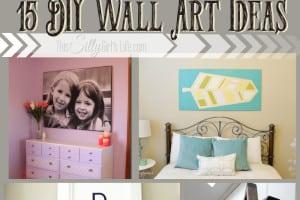 15 DIY Wall Art Ideas