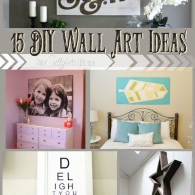 15 DIY Wall Art Ideas