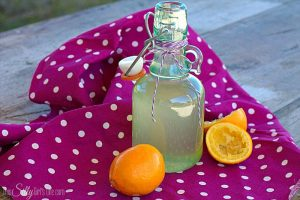 Meyer Lemon Simple Syrup