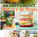 20 Different Salad in a Jar Recipes