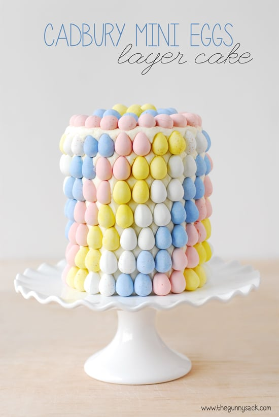 Mini Eggs Cake Cadbury
