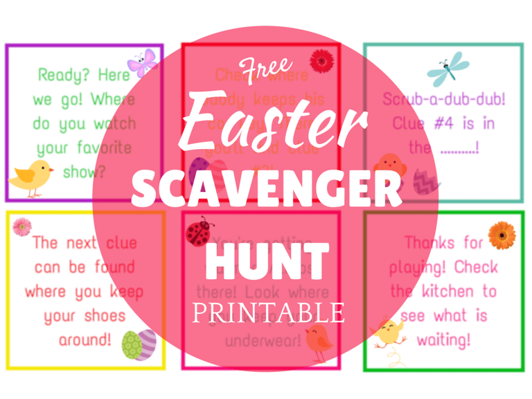 Easter Scavenger Hunt (2)