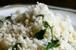 Herbed Cauliflower Rice {contributor Rina}