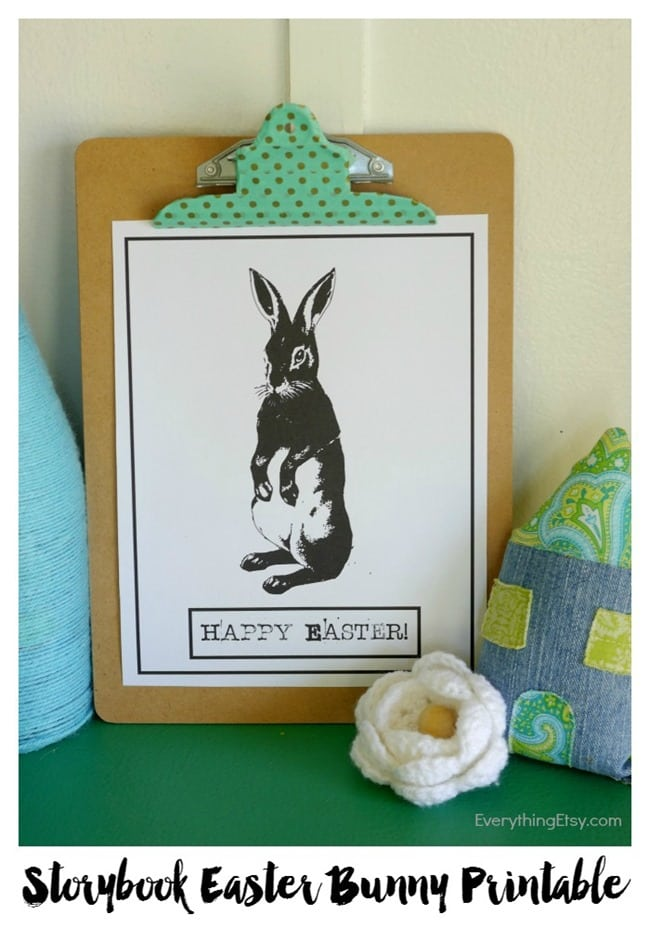 Vintage-Storybook-Easter-Bunny-Free-Printable-on-EverythingEtsy.com_