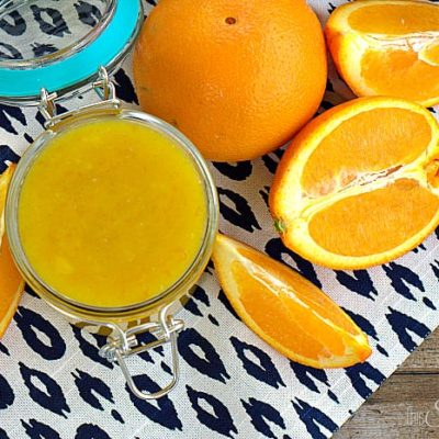 Vanilla Bean Orange Curd