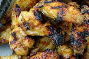 Grilled Sweet Sticky Wings