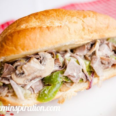 Cheater Cheesesteak Sandwiches {contributor Melissa}