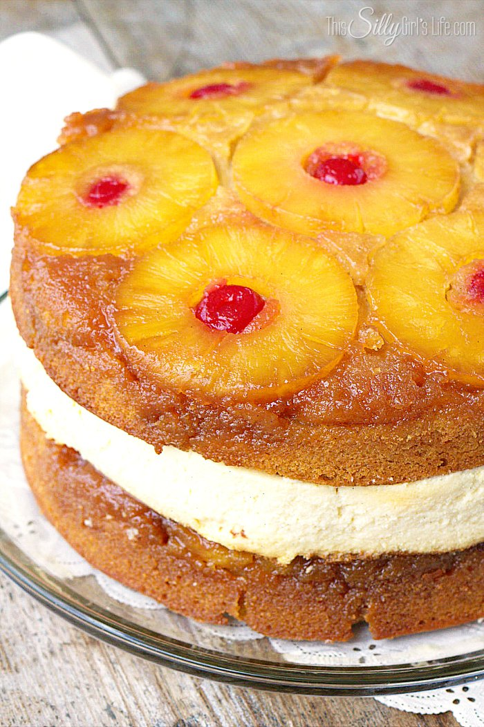 Copycat Cheesecake Factory Pineapple Upside-Down