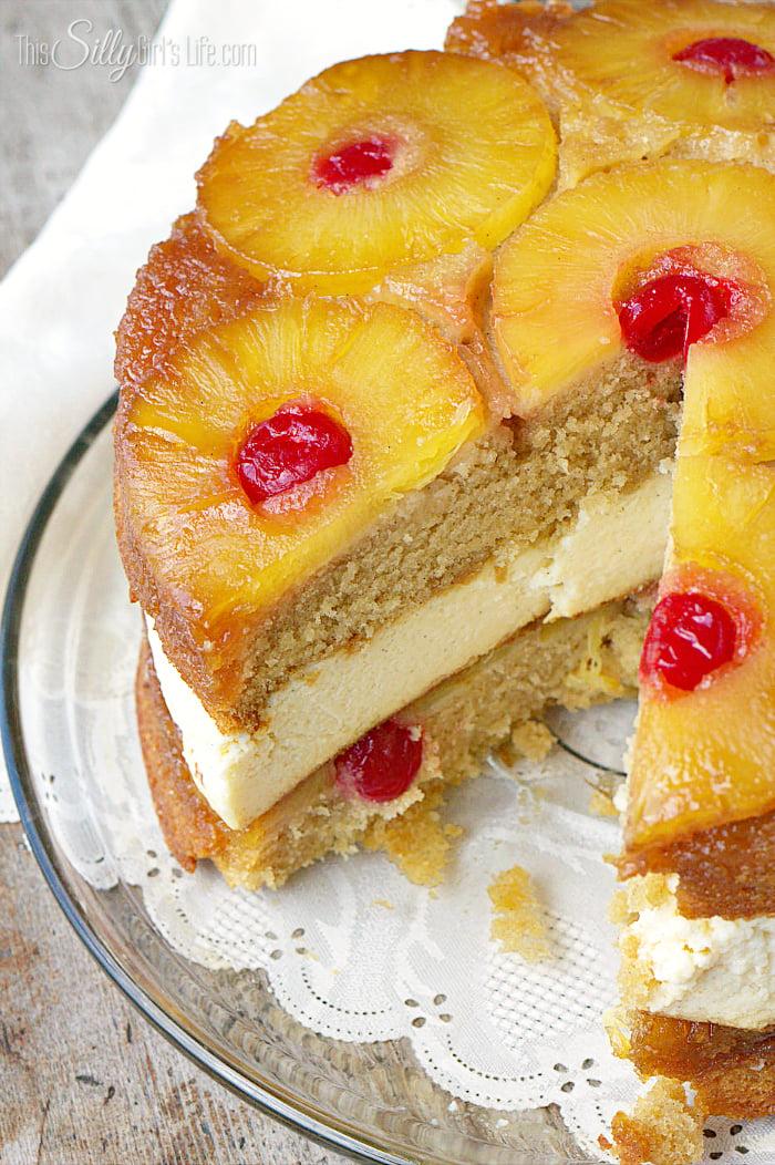 Homemade Chocolate Pineapple Upside Down Cake