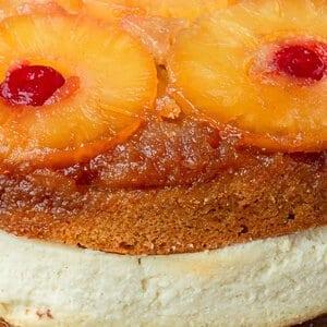 Pineapple Upside Down Cheesecake - Cheesecake Factory CopyCat