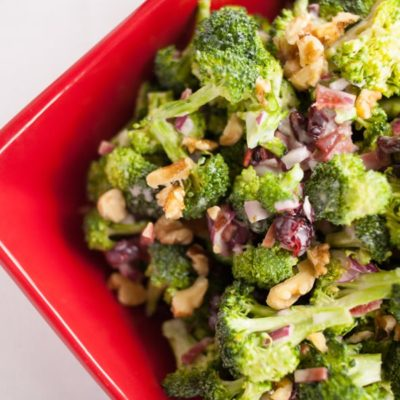 Perfect Broccoli Salad {contributor Melissa}