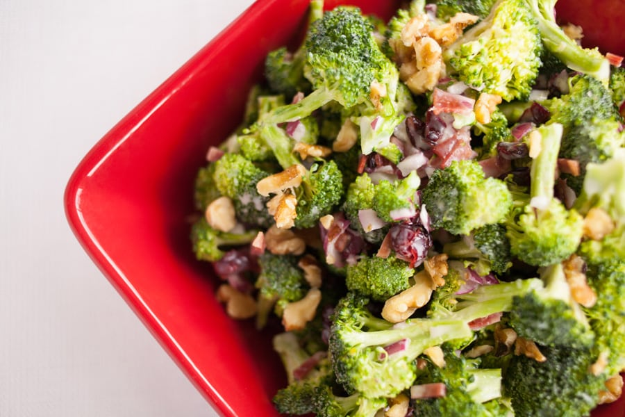 Perfect Broccoli Salad {contributor Melissa} - This Silly Girl's Kitchen