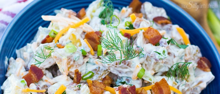 Potato Salad with Scallions and Dill forecast