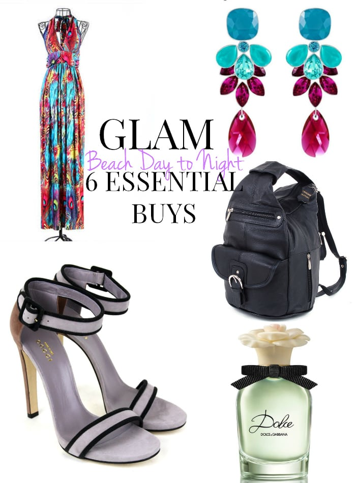 Glam Beach Day to Night: 6 Essential Buys, still look girly and fabulous on the beach with these essentials found on eBay Deals! - ThisSillyGirlsLife.com #DEALS @eBay #ad