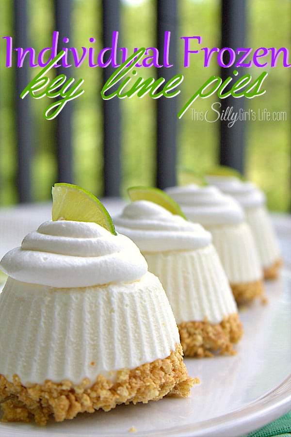15 Mini Frozen Desserts, fun, mini frozen treats perfect for summer! - ThisSillyGirlsLife.com #minidesserts #frozendesserts #summer