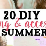 20 DIY Clothing and Accessories for Summer 2015 from ThisSillyGirlsLife1