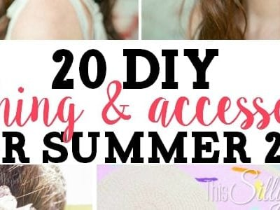 20 DIY Clothing and Accessories for Summer