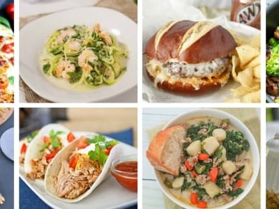 The Easy Dinner Recipes Meal Plan – Week 2