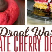 18 Drool Worthy Chocolate Cherry Desserts from ThisSillyGirlsLife feature