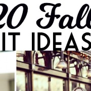 20 Fall Outfit Ideas 2015 from ThisSillyGirlsKitchen feature