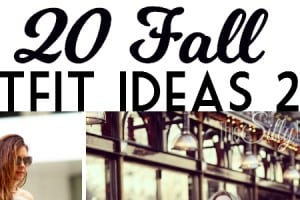 20 Fall Outfit Ideas 2015