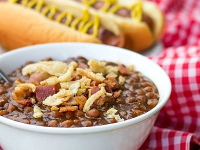 30 Minute Stove Top Baked Beans