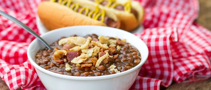 30 Minute Stove Top Baked Beans - This Silly Girl's Kitchen