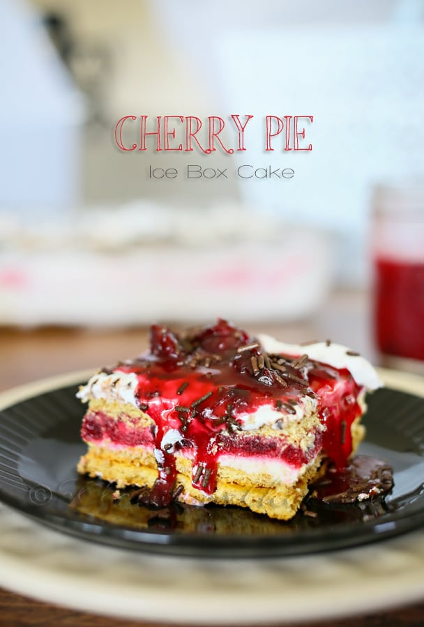 Cherry-Pie-Ice-Box-Cake