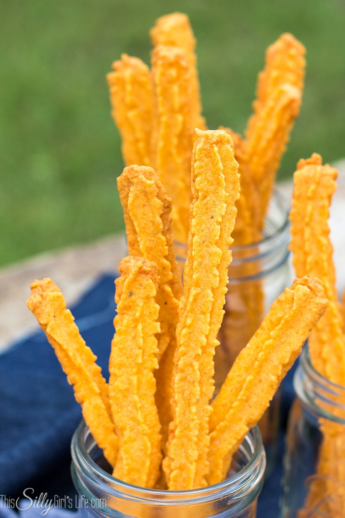 Chipotle Cheese Straws, the classic southern snack with a kick! - ThisSillyGirlsLife.com #cheesestraws