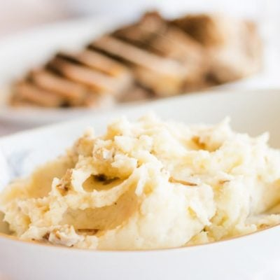 Easy Gourmet Mashed Potatoes {contributor Melissa}