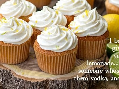 Lemon Lime Angel Food Cake Cupcakes