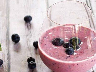Easy Blueberry Smoothie