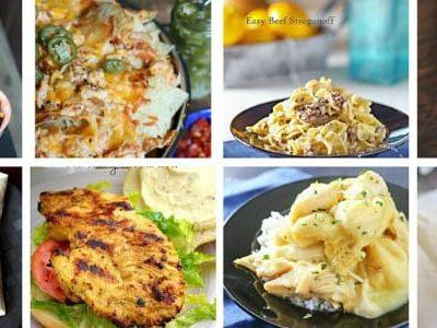 The Easy Dinner Recipes Meal Plan – Week 17