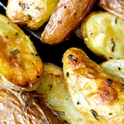 Rosemary Roasted Fingerling Potatoes from This Silly Girls Kitchen-feature
