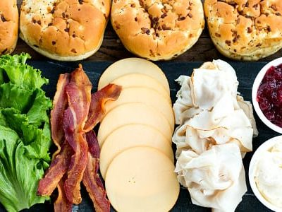 Ultimate Turkey Bacon Cranberry Sandwiches for Game Day