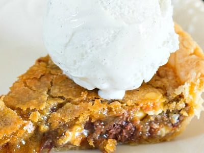 Double Chocolate Chip Cookie Pie