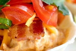 Chipotle Crack Chicken Tacos