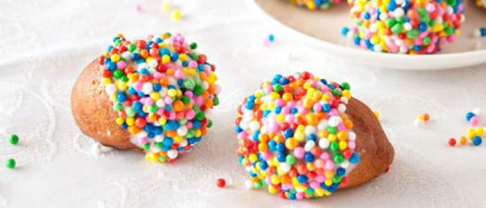 White Chocolate Glazed Doughnut Holes - This Silly Girl's Kitchen