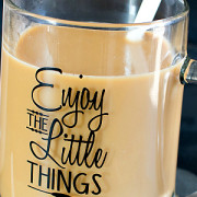 Homemade Chocolate Hazelnut Coffee Creamer from This Silly Girls Kitchen-23feature