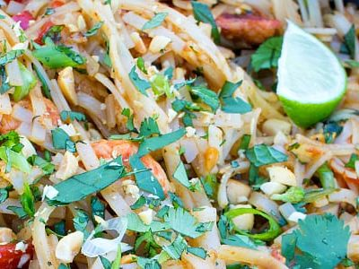 Skinny Chicken Pad Thai