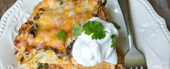 -Stuffed Poblano- Mexican Lasagna from This Silly Girls Kitchen-feature