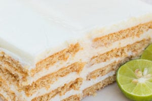 Key Lime Eclair Cake