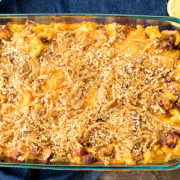Chili Cheese Dog Mac and Cheese from This Silly Girls Kitchen-feature