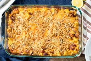 Chili Cheese Dog Mac and Cheese